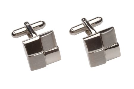 cuff links: Cuff links 2 Stock Photo