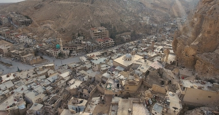 Village in the mountains 2017, Maaloula Syria