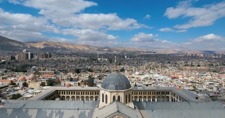 The Great Mosque of the Umayyads, Damascus