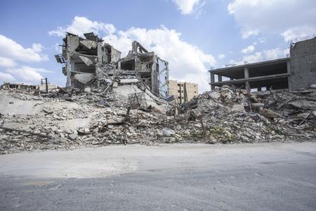 City of Aleppo in Syria Standard-Bild