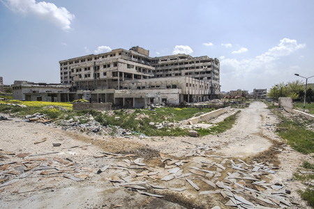 City of Aleppo in Syria Stock Photo