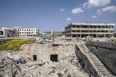 City of Aleppo in Syria Banco de Imagens