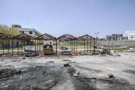 City of Aleppo in Syria Editorial
