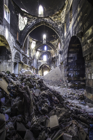 City of Aleppo in Syria Redakční