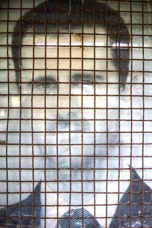 Poster bachar al Assad Palmira Syria 12122015