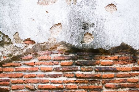 Brick Wall Backgrounds The house is old.Walls of decayed houses.Classic and vintage