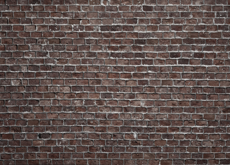 Old grunge dark brick wall background. picture backdrop, Perfect for your presentations.