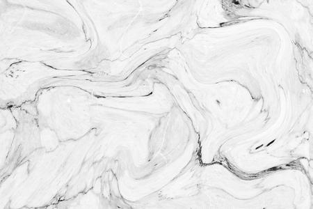 Abstraktes Wellenmuster, weißer grauer Marmortinten-Beschaffenheitshintergrund für Tapeten- oder Hautwandfliese für Innenarchitektur. Hochauflösend Standard-Bild
