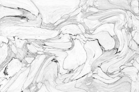 wet paint: Abstract wave pattern white marble texture wall for interior design. pattern for background or skin luxurious product. High Definition