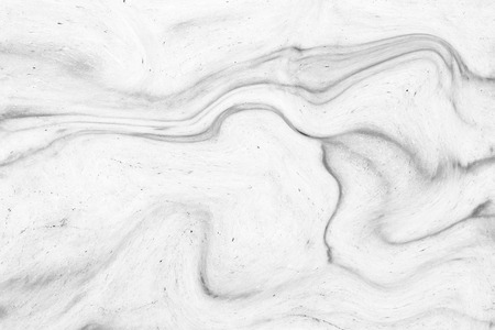 wet paint: Abstract acrylic wave pattern, White marble ink texture background for wallpaper or skin wall tile for interior design. High Definition Stock Photo