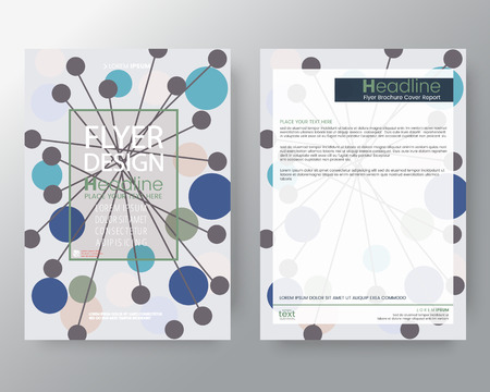 Memphis art background for Corporate Identity , Brochure, annual report, cover, Flyer, Poster. Illustration