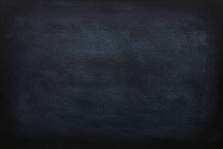 Blank chalk rubbed out on blackboard or chalkboard texture. clean school board for background or copy space for add text message. Stock fotó