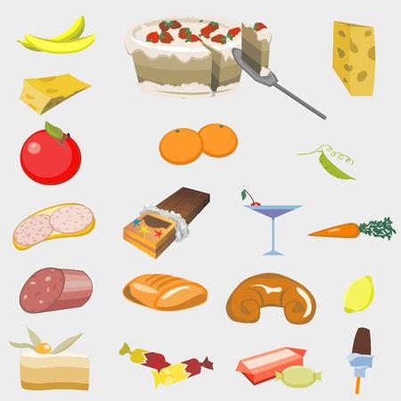 Good Food. Vector illustration Vector