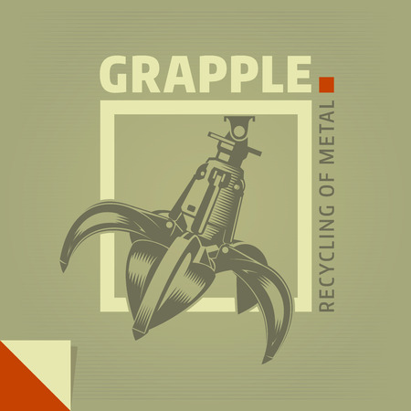 Grapple grab logo
