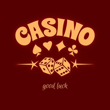 casino logo sign