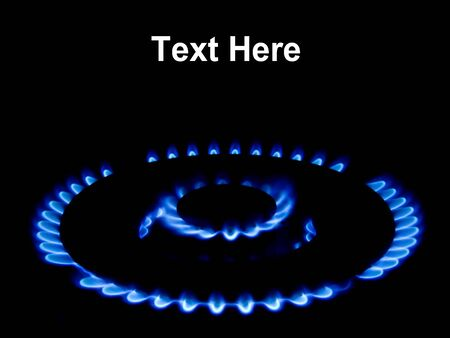 this a shot of a natural gas flame photo