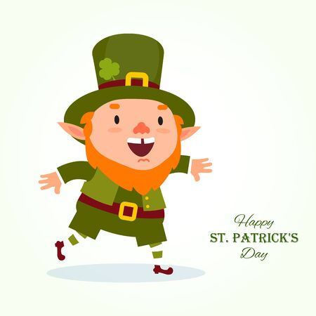 St.Patrick s Day. Leprechaun, the traditional national character of Irish folklore.