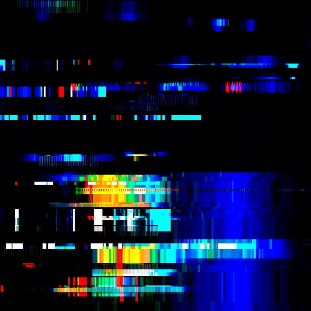 Glitch Error signal TV Failure computer Abstract blurred background with technology malfunction Modern design Colorful multicolor bright Vector illustration EPS10