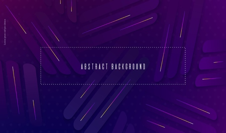 Ultraviolet blurred wallpaper with abstract geometric shapes Trendy abstract background. Creative design for posters banners flyers presentation covers web etc Vector EPS10 向量圖像