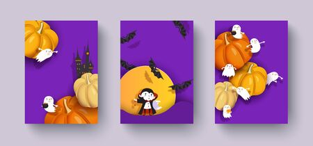 Happy Halloween design.