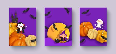 Happy Halloween design.
