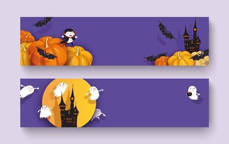 Happy Halloween 3d design 일러스트