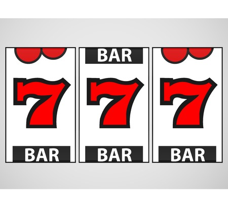slots: Slot Machine Ilustraci�n Vector