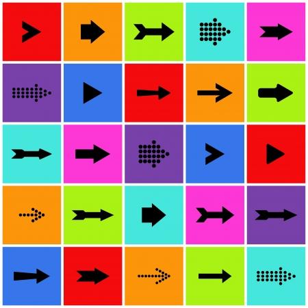 기호 아이콘 세트를 화살표. (10)를 EPS로 저장. 일러스트