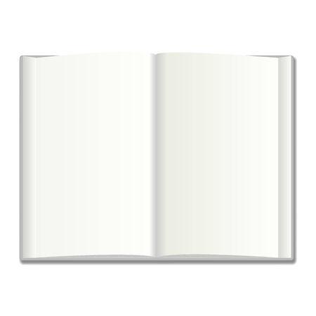 Blank book vector illustration Stock Vector - 25498091