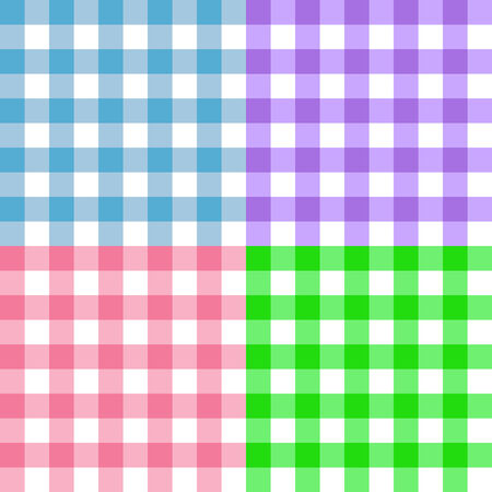 파스텔 사각형 패턴 그림 일러스트
