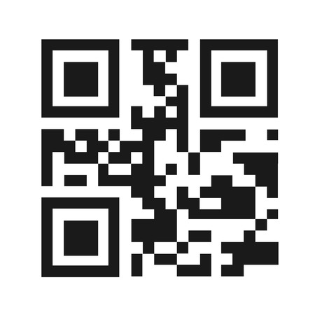 QR code vector illustration isolated