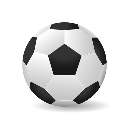 Soccer ball vector illustration isolated