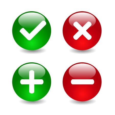 Check mark icons illustration 向量圖像