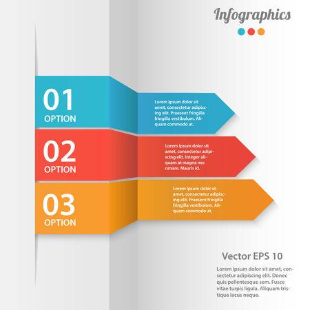Business infographics illustration