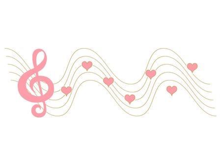 music background: Heartstrings Illustration