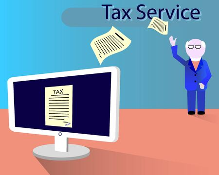 inspector: Inspector receives an electronic tax payment