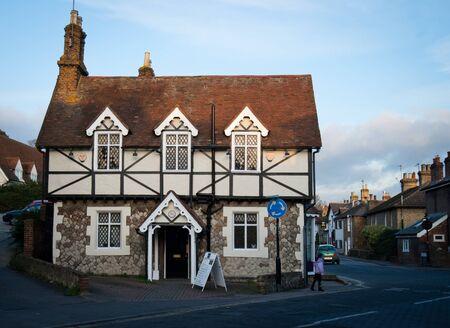 elizabethan: Elizabethan cottage in Aylesford Village, Kent UK