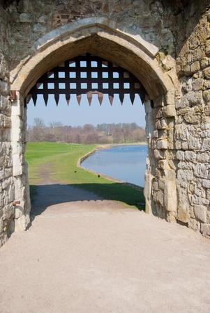 portcullis: Castello di Gateway con Portcullis