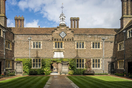 almshouse: Abbots alms houses in Guildford Editorial