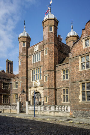 almshouse: Abbot Hospital, Almshouses in Guildford, Surrey Stock Photo