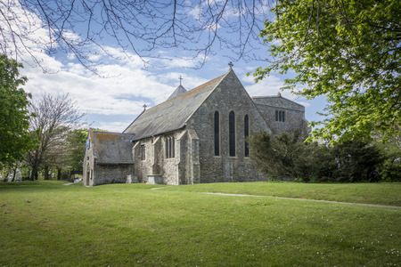minster: Minster Abbey on the Isle of Sheppey Kent