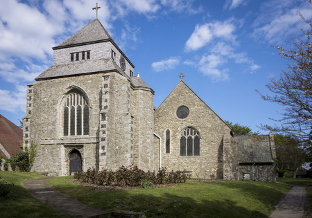 kent: Minster Abbey on the Isle of Sheppey Kent
