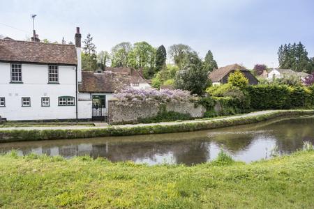 loose: Loose river running through the village of Loose, Kent, UK
