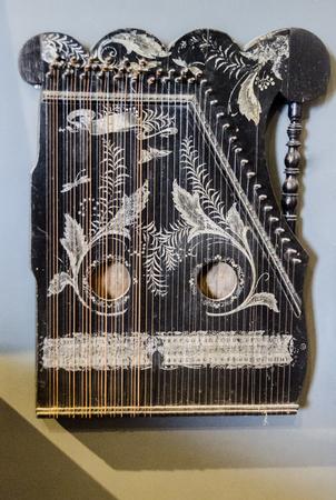 Kannel은 Baltic box zither family에 속하는 에스토니아어로 뽑은 현악기입니다. 스톡 콘텐츠