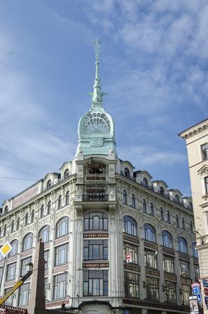 artdeco: An art-deco building in Saint Petersburg, Russia