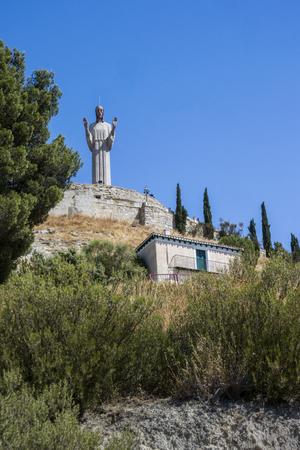 Statue of Christ (Cristo del Otero) in Palencia, Spain