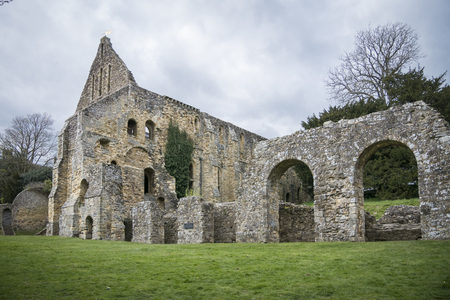 Battle Abbey, built on the site of the Battle of Hastings, Battle, Sussex, UK