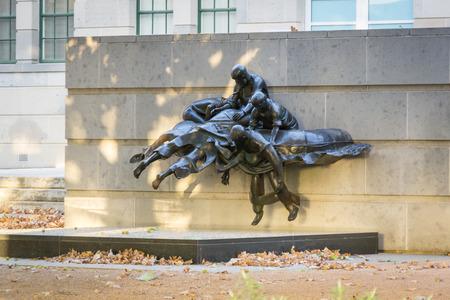 Australian war Memorial in the Sculpture Garden, Canberra, ACT, Australia Reklamní fotografie