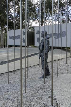 Australian National Korean War Memorial on Anzac Parade, Canberra, ACT, Australia