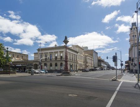 View of Lydiard Street from Sturt Street, Ballarat, Victoria, Australia